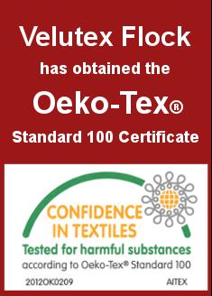 Velutex certificate